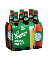 coopers pale ale 6-pack